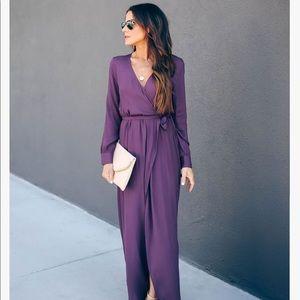 VICI Long Sleeve Wrap Dress